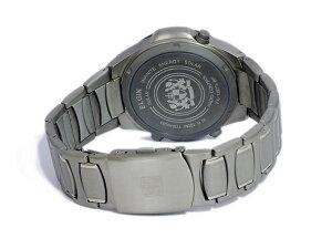 【送料無料】【】エルジンELGINソーラー電波メンズチタンワールドタイム腕時計FK1397TI-BP