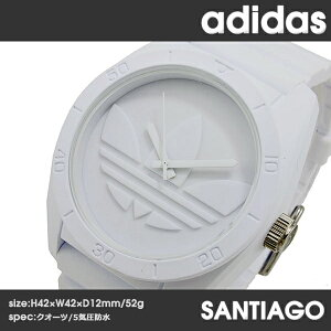 アディダスADIDASサンティアゴクオーツメンズ腕時計ADH6166