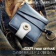マクラーレン MACLAREN.co 財布 折り財布 小銭入れ 牛革製 MC-0606 BL