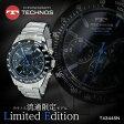 【送料無料】テクノス TECHNOS クオーツ メンズ クロノ 腕時計 T4344SN