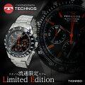 【送料無料】【あす楽】テクノスTECHNOSクオーツメンズクロノ腕時計T4344SO