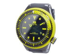 【送料無料】ヌーティッドNUTIDSCUBAPROクオーツメンズ腕時計N-1401M-BYE
