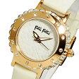 【送料無料】フォリフォリ FOLLI FOLLIE フォーハート レディース 腕時計 WF13B067SPW-WH