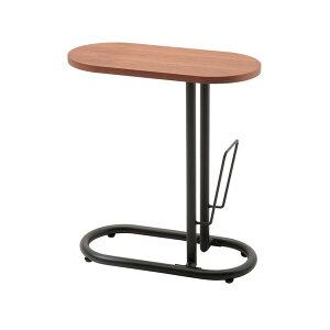 【送料無料】あずま工芸ビークサイドテーブル机SST-240ウォルナットき