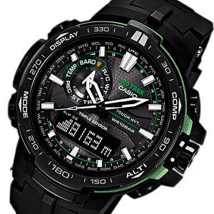 【送料無料】カシオCASIOプロトレック電波タフソーラーメンズ腕時計PRW-6000Y-1Aブラック