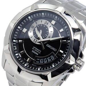 【送料無料】セイコーSEIKO自動巻きメンズ腕時計SSA219K1ブラック