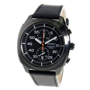【送料無料】セイコーSEIKOクロノクオーツメンズ腕時計SNN217P1ブラック