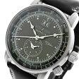 【送料無料】ツェッペリン 100周年 記念モデル LZ1 クオーツ メンズ 腕時計 7640-2 ブラック