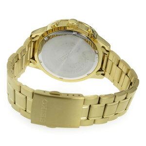 【送料無料】セイコーSEIKOクオーツクロノメンズ腕時計SKS526P1ゴールド