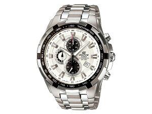 【送料無料】カシオCASIOエディフィスEDIFICEクロノグラフ腕時計EF539D-7Aホワイト