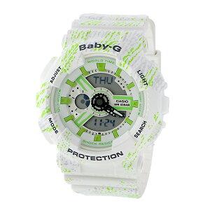 【送料無料】【】カシオCASIOベビーGミスト・テクスチャーレディース腕時計BA-110TX-7AJFホワイト国内正規