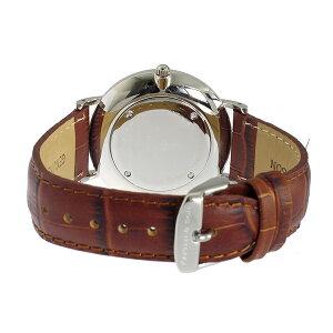 【送料無料】【】キャプテン&サンKAPTEN&SON40mmホワイト/ブラウンクロコレザーレディース腕時計SV-KS40WHBRCL