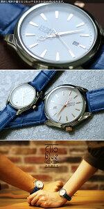 【送料無料】クリオブルーClioBlueクオーツメンズ腕時計CB010-12-2Sホワイト