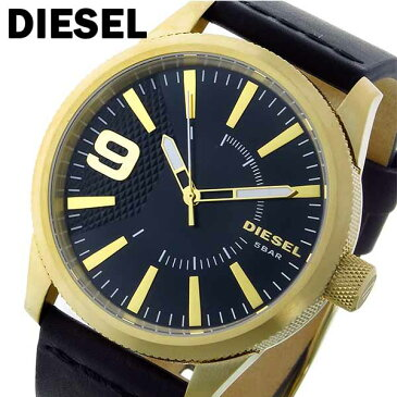 ディーゼル DIESEL ラスプ RASP クオーツ メンズ 腕時計 DZ1801 ブラック/ゴールド