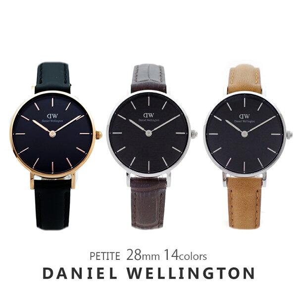3年保証 ダニエルウェリントン腕時計レディースペティート28MM選べる14colorDANIELWELLINGTONPETIT