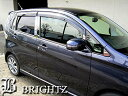 【 BRIGHTZ eKワゴン B11W 超鏡面ステンレスメッキピラーパネ...