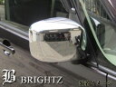 【 BRIGHTZ スペーシア MK32 MK42 メッキドアミラーカバー A...
