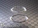 【 BRIGHTZ パレット MK21S クロームメッキサイドマーカーリ...