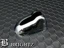 【 BRIGHTZ パレットSW MK21S メッキアンテナカバー Hタイプ ...