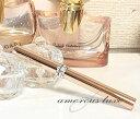 香水 アトマイザー ロールオン 香水 詰め替え 容器『C-line』 (ピンクゴールド)スティックアトマイザー スワロフスキー デザインロール式 アトマイザー香水 消臭剤 携帯 持ち運び 遮光 塗る香水プレゼントにも人気