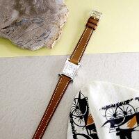 エルメス Hウォッチミニ 037961WW00 HH1.110.131/VBA ナチュラル HERMES 新品レディース 腕時計 送料無料