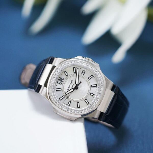 パテックフィリップノーチラス7010G-001PATEKPHILIPPE中古レディース腕時計