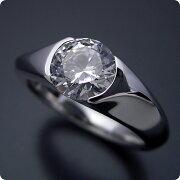 1カラット版:絶妙なラインを描く婚約指輪
