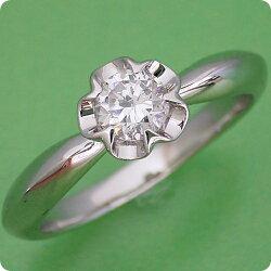 リーフデザイン伏せこみタイプの婚約指輪