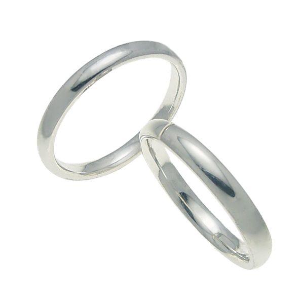 ペアリング 結婚指輪 マリッジリング 甲丸リング 3ミリ ペアリング プラチナ900 プロポーズ【ペアリング・甲丸リング・3mm幅・プラチナ】:極(きわみ)宝石職人直売所