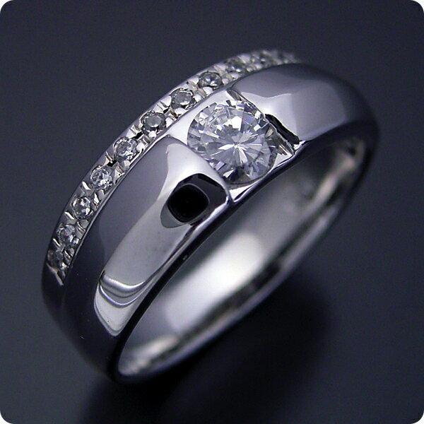 【婚約指輪】エンゲージリング【0.3ct】一粒【0.3カラット】ダイヤモンド【ブライダルジュエリー】プラチナ【結婚指輪】マリッジリング【エタニティリングと組み合わせた婚約指輪】Eカラー・VS1クラス・Excellentカット【宝石鑑定書付き】