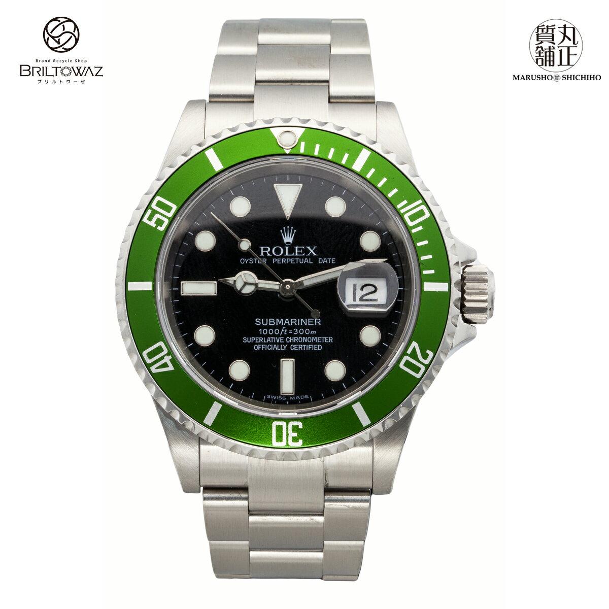 腕時計, メンズ腕時計 ROLEX Ref16610LV Z 2008 SS USED (M208881)