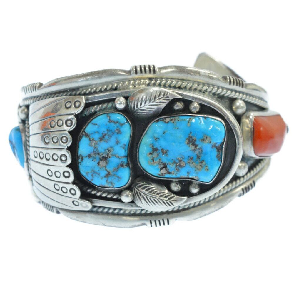 メンズジュエリー・アクセサリー, バングル LFC()turquoise bangle Navajo Artist Ed Kee R20121115-123AB