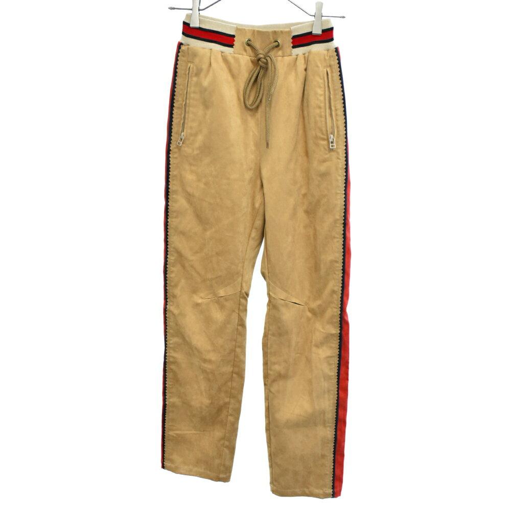 メンズファッション, ズボン・パンツ FACETASM()FAKE SUEDE PANTS MRC-PT-M08 SA
