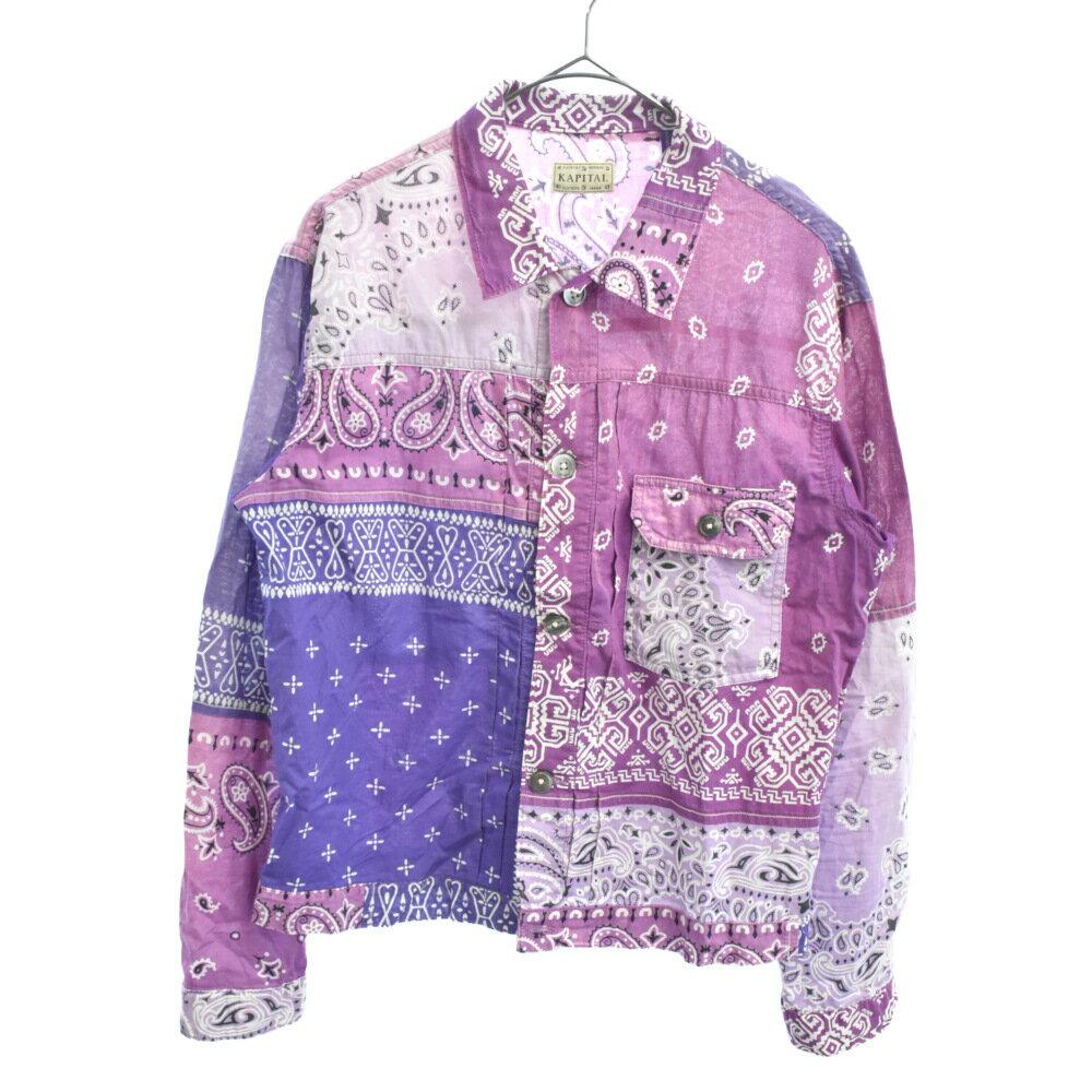 メンズファッション, コート・ジャケット KAPITAL()19SS Bandana Patchwork 1st Jacket A