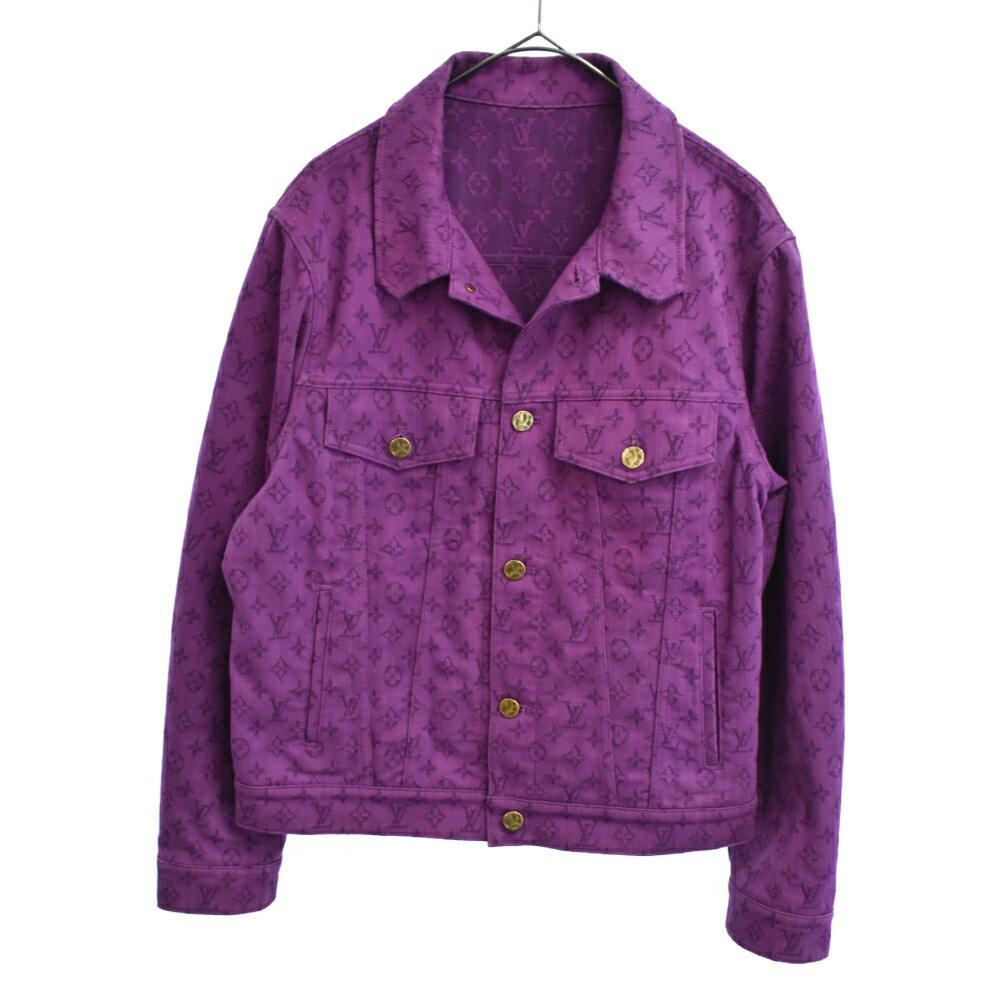 メンズファッション, コート・ジャケット LOUIS VUITTON()19AW Monogram Denim Jacket AB