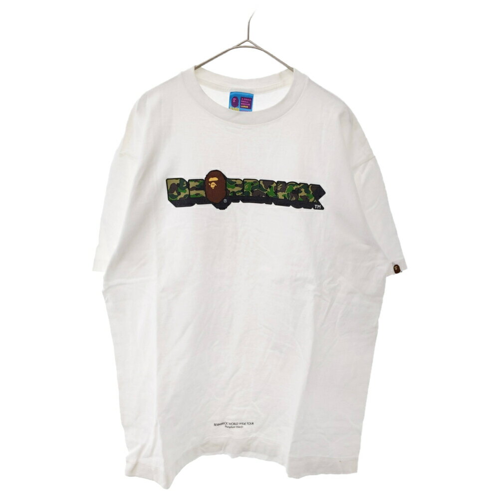 トップス, Tシャツ・カットソー A BATHING APE()BERBRICK WORLD WIDE TOURT AB