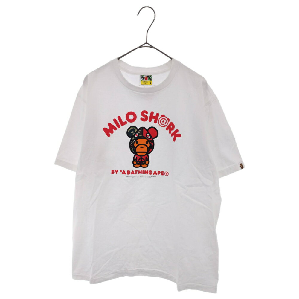 トップス, Tシャツ・カットソー A BATHING APE()BERBRICK MILO SHARKT AB