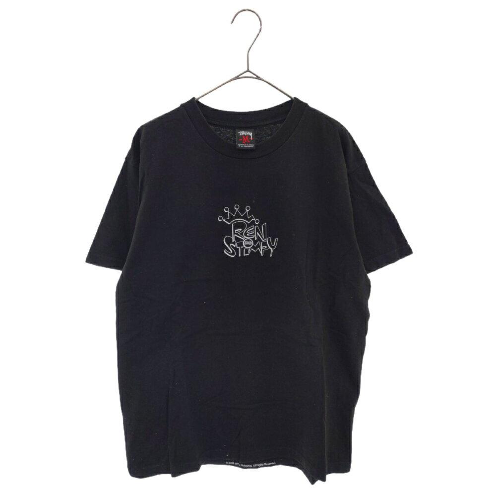 トップス, Tシャツ・カットソー STUSSY()2010 MEDICOM TOY EXHIBITION RENSTIMPY T ABSALE 5.17 20:00-5.19 16:59