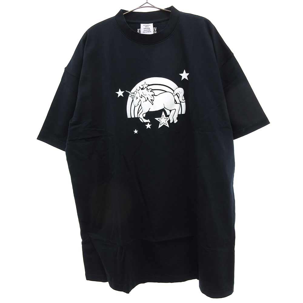 トップス, Tシャツ・カットソー VETEMENTS()21SS MAGIC UNICORN T UE51TR390NNSS 6.13 0:00-6.14 17:59