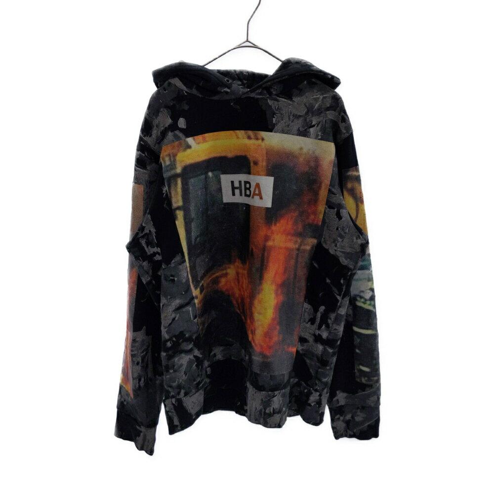 メンズファッション, その他 HOOD BY AIR()16SS BULLDOZ TERRY BOX HOODIE A