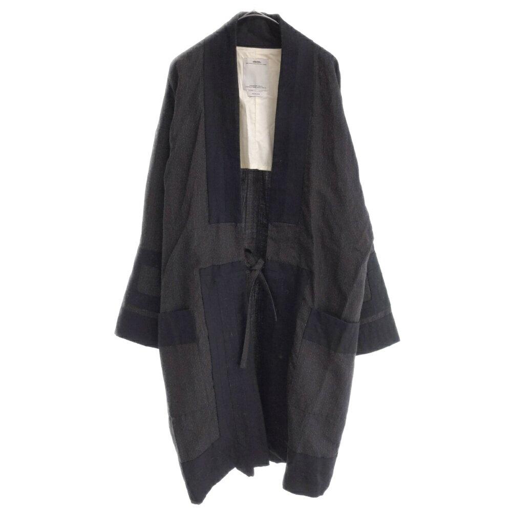メンズファッション, コート・ジャケット VISVIM()17SS RUUNPE COAT PINSTRIPE 0117105013005 AB