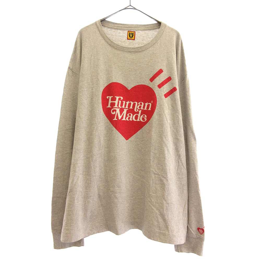 トップス, Tシャツ・カットソー Girls Dont Cry()20SS HUMAN MADE Logo LS Tee T AB
