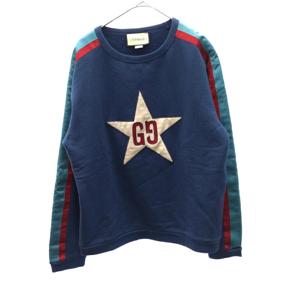 トップス, Tシャツ・カットソー GUCCI()19AW Star Logo Sweat 576065 AB