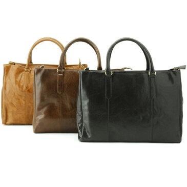 バッファローバーニッシュ ジップアップブリーフ 高級本革紳士鞄ビジネスブリーフケース