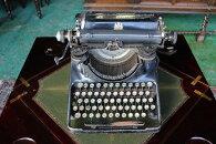 イギリスアンティークタイプライターBAR-LOCKバーロックディスプレイインテリア店舗什器1930年頃英国製h12-3