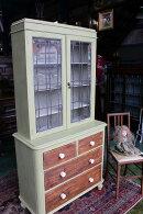 イギリスアンティーク家具キャビネットドレッサーショーケースチェスト1880年頃英国製h169-2