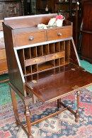 イギリスアンティーク家具ビクトリアン/ビューローライティング/ビューローデスク1890年頃英国製c208a