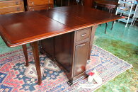 イギリスアンティーク家具ゲートレッグテーブルバタフライテーブルテーブルダイニングテーブル1940年代英国製c45