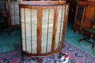 イギリスアンティーク家具アンティークキャビネットショーケースキャビネットウィリアムモリス1930年頃英国製c31