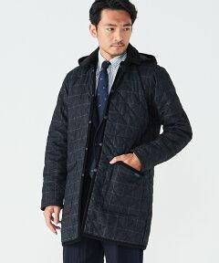 Mid Length DH Jacket BM LVH101881902B0: Charcoal Windowpane